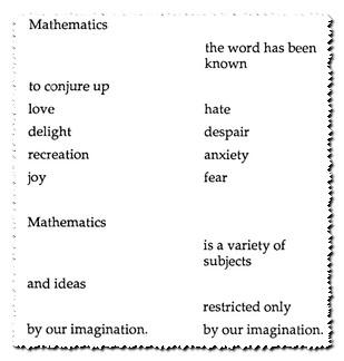 Math Poem, Theoni Pappas