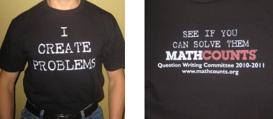 MathCounts QWC Shirt