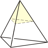 Tetrahedron - Corner Removed