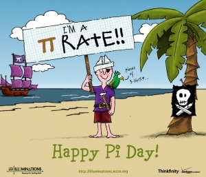 Pi Day Pirate