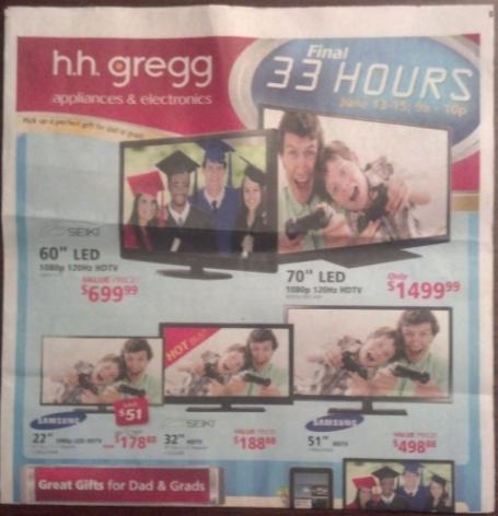 H H Gregg Flyer