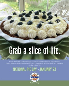 National Pie Day Poster