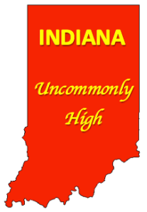 Indiana - Uncommonly High