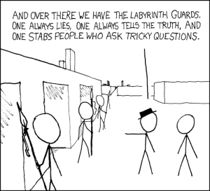 Labyrinth Puzzle - xkcd