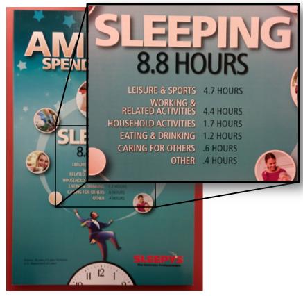 Sleepys Poster  Inset