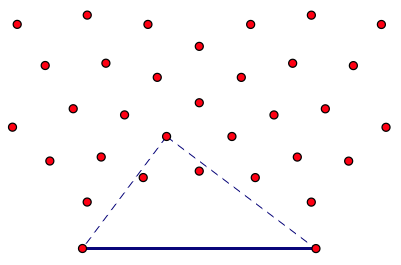 Points Integer Triangle