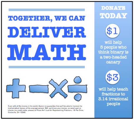 Deliver Math Flyer