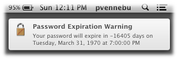 Password Expiration