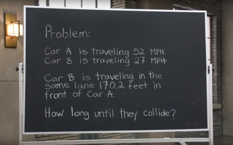 Chevy Math Problem
