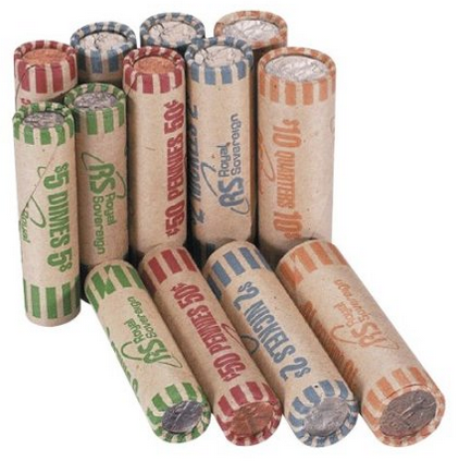 quarter coin wrappers