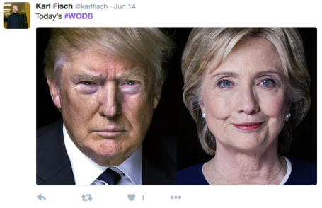 WODB Trump Hillary