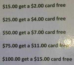 Pancake Gift Cards Math Jokes 4 Mathy Folks
